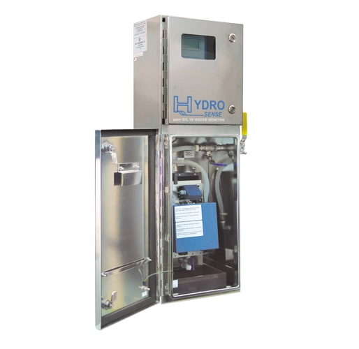 Hydrosense 2410 Actual, PPM Oil in Water