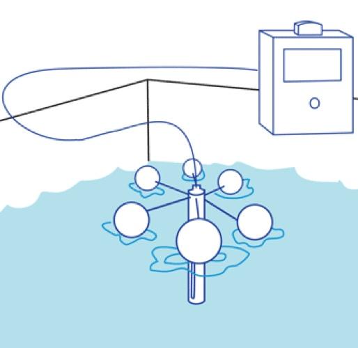 4100-HCF sketch, floating oil